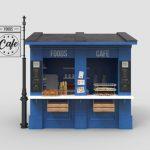 outdoor cafe shop
