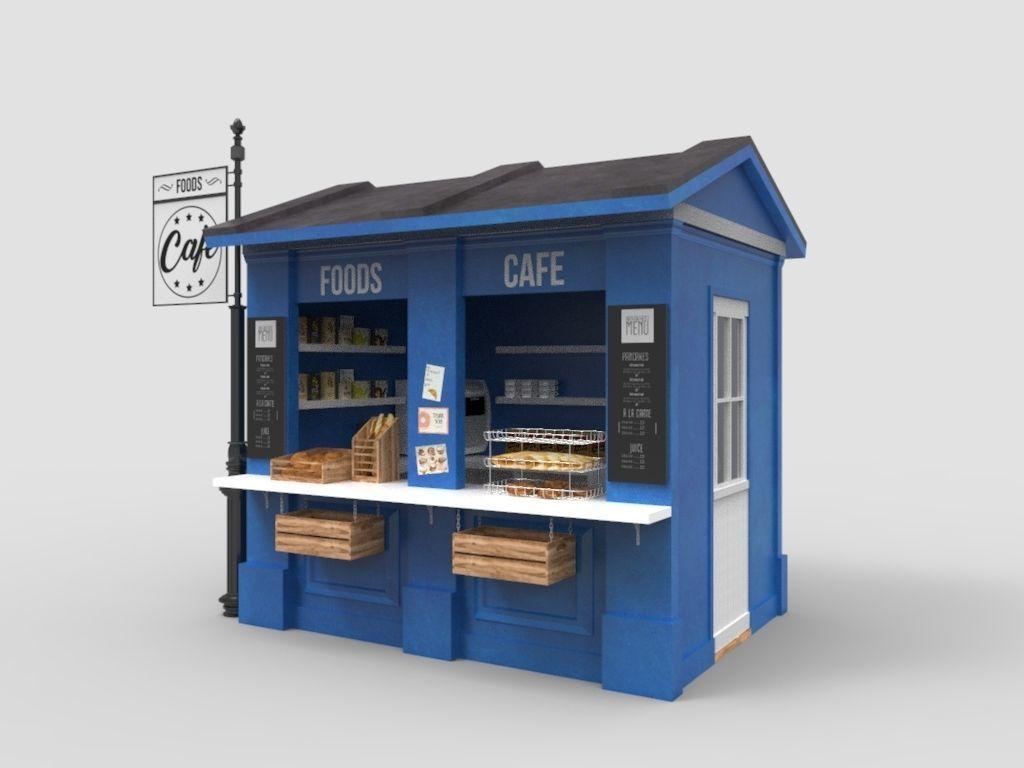 outdoor drink shop