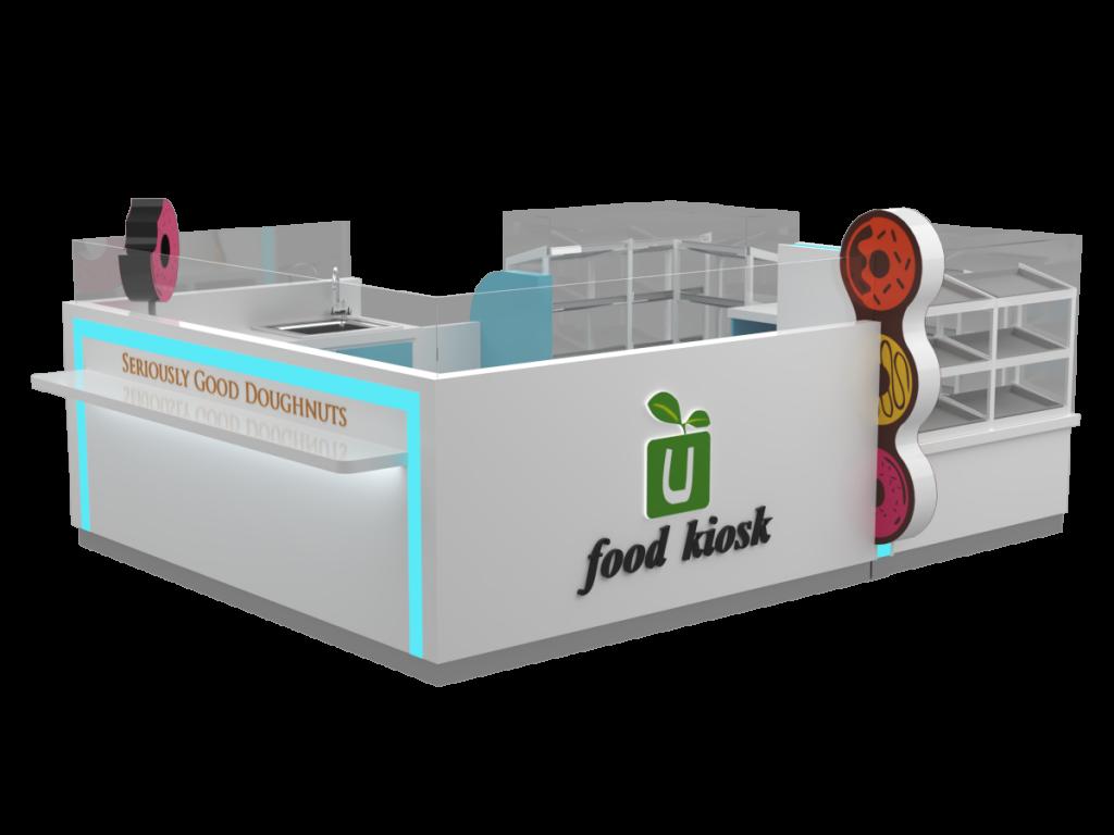 food display kiosk