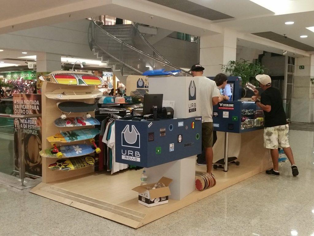 skateboard booth