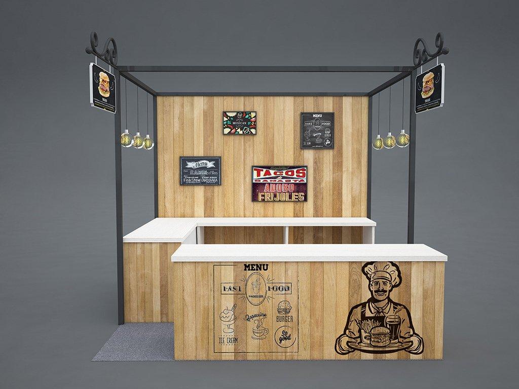 coffee booth