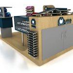 skateboard kiosk