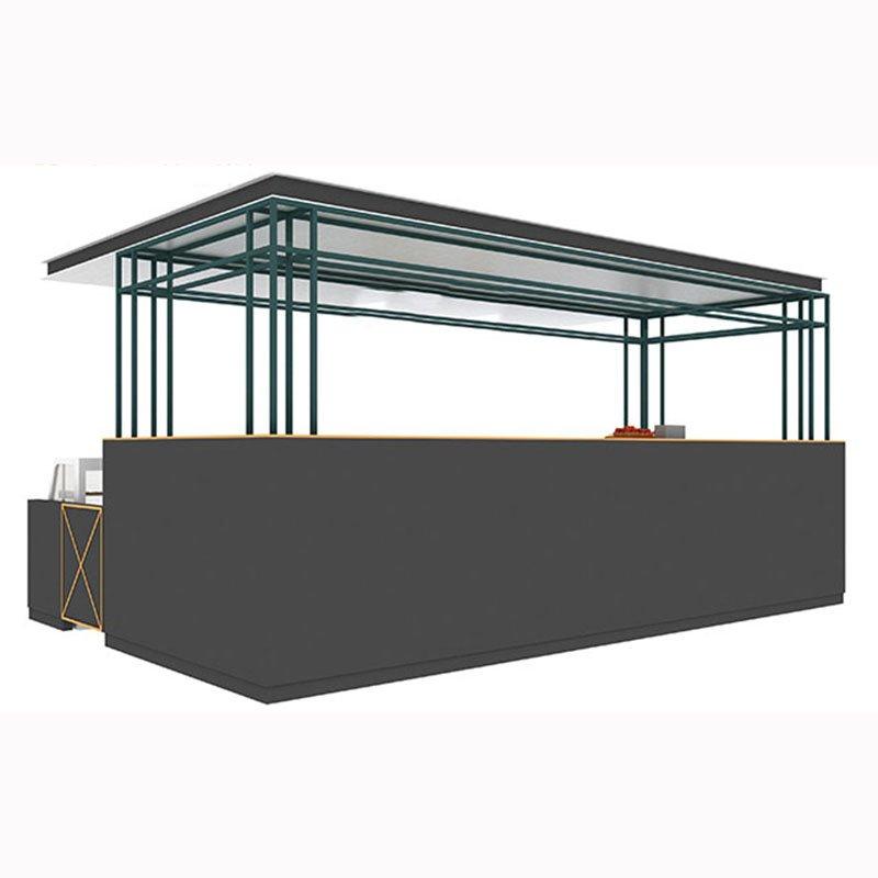 mall drink kiosk