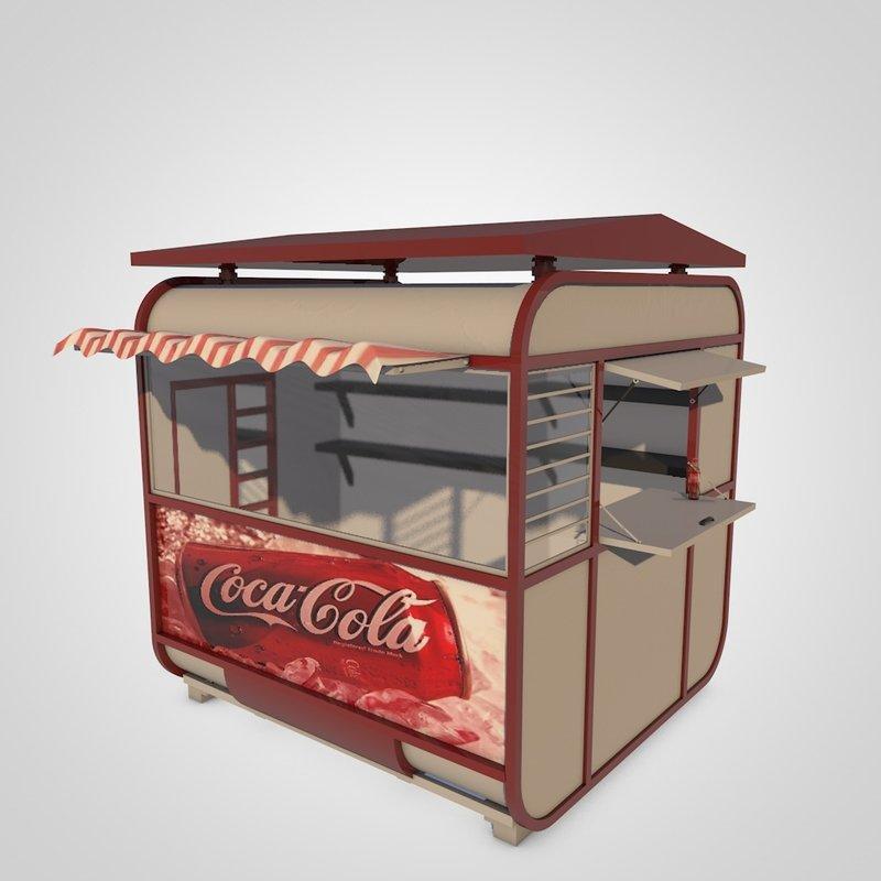 coca cola kiosk