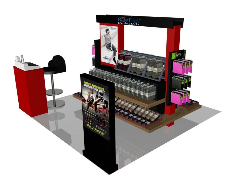sock kiosk