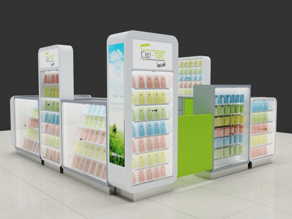 phone kiosk design