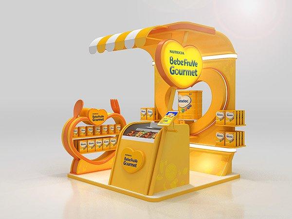 Milk powder cabinet