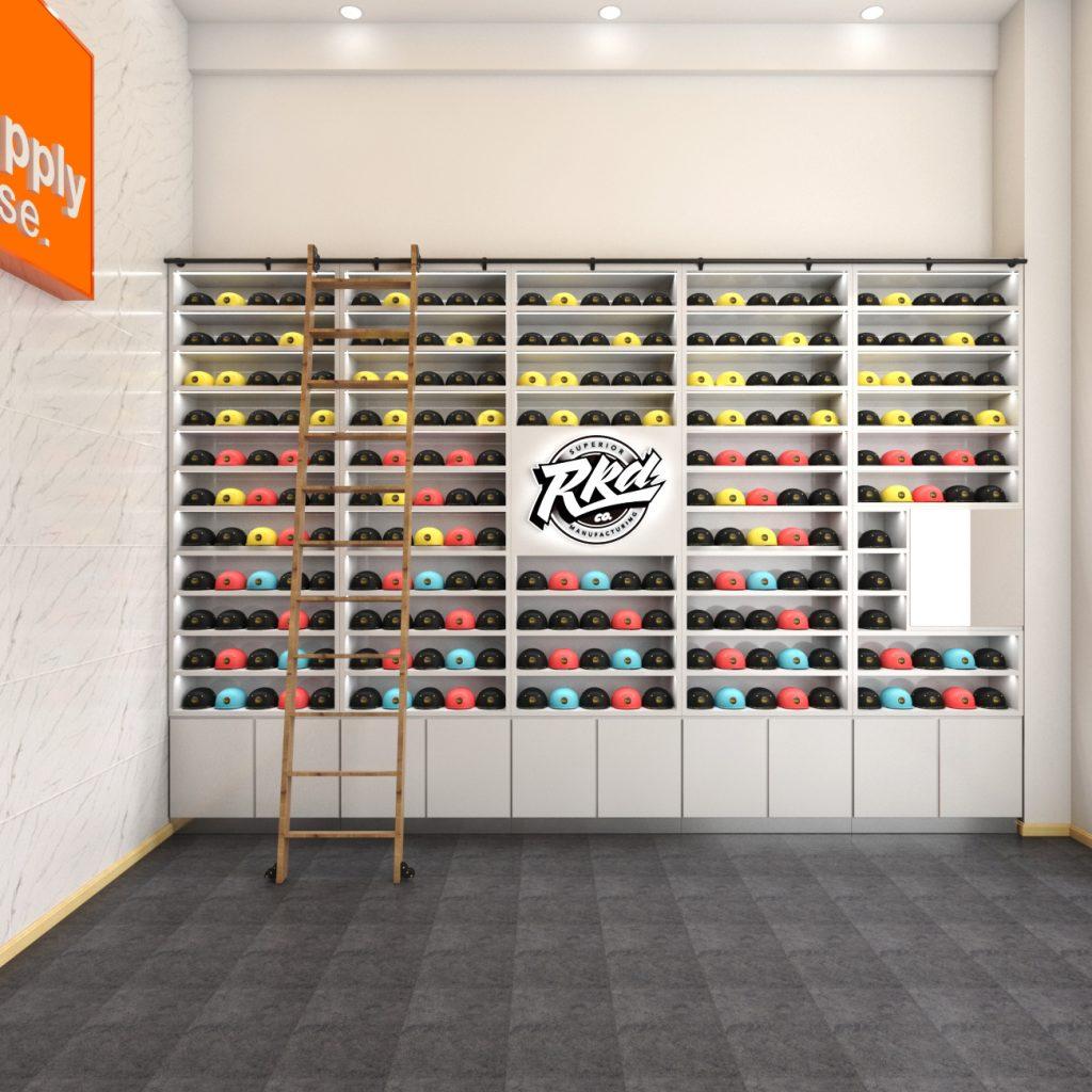 hat kiosk design