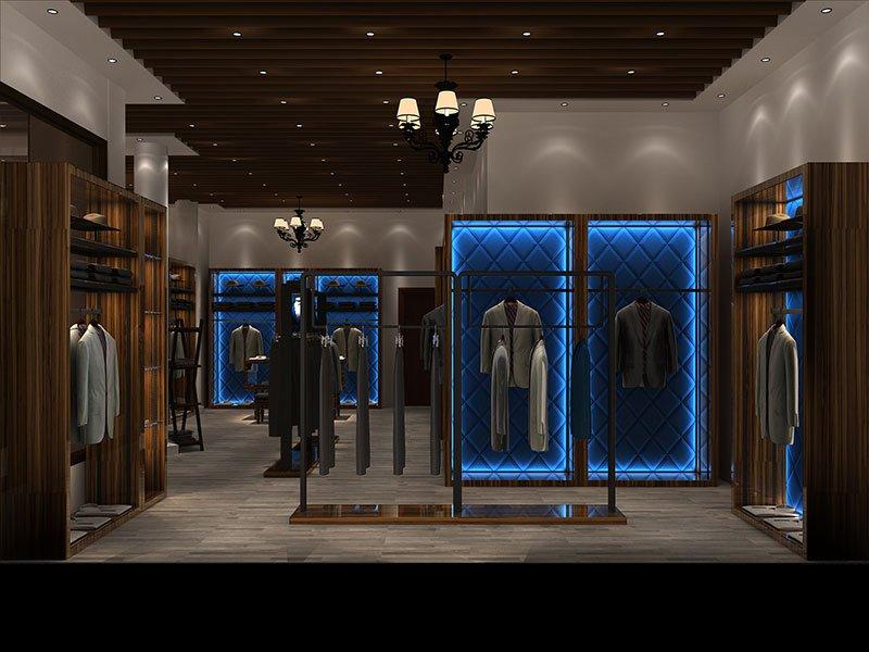Men's Suit Shop design
