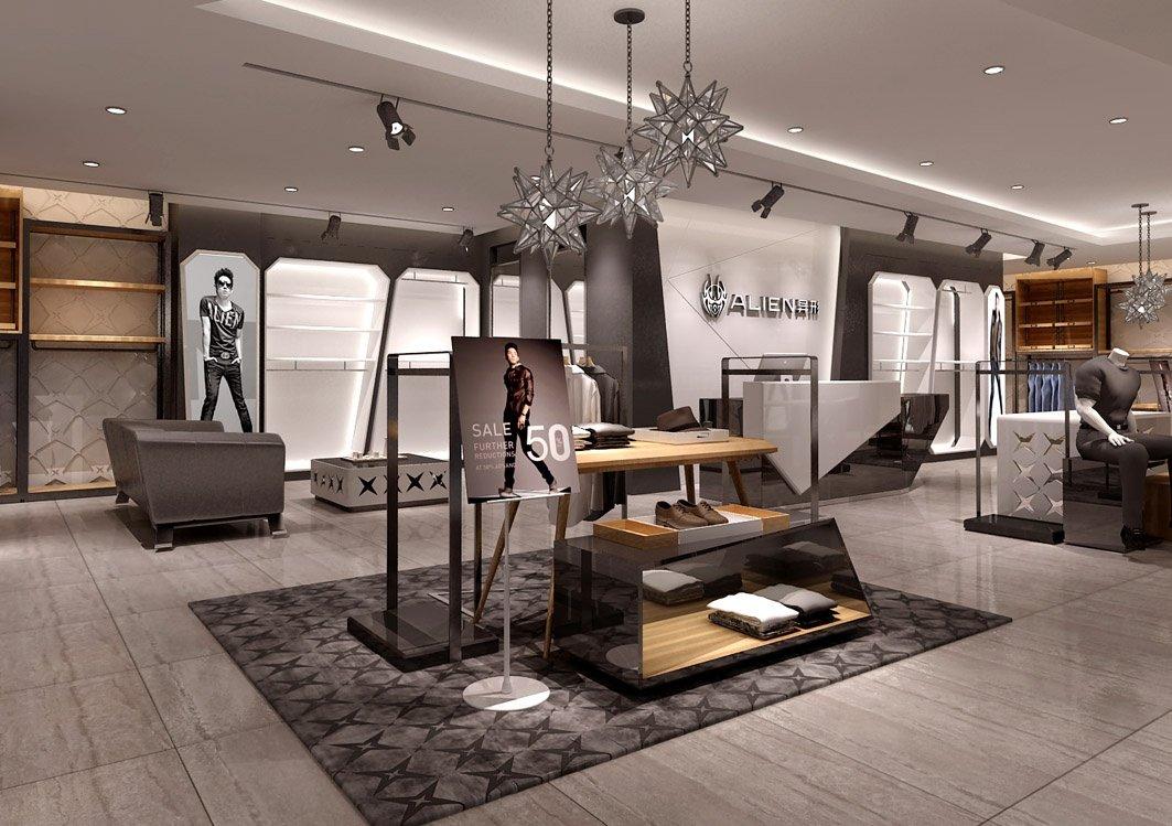 Modern Men S Clothing Store Retail Display Rack Interior Shop Design,Wedding Party Wear Pakistani Designer Dresses Online Shopping