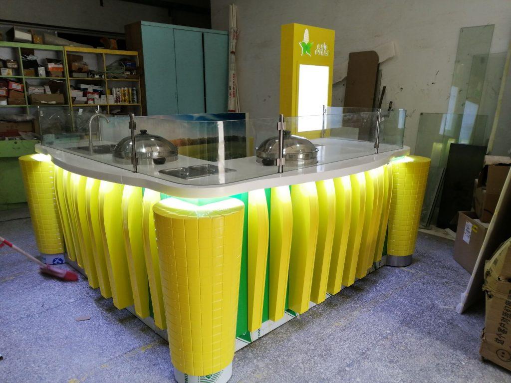 sweet corn booth