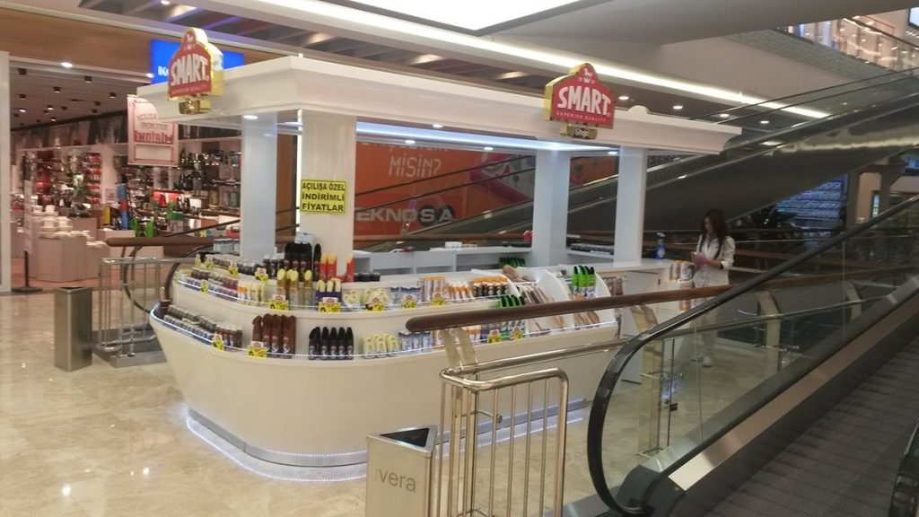 smart shop in mall