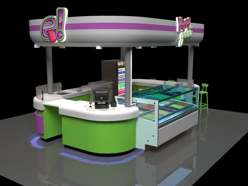 mall kiosk design