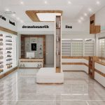 pharmacy wall stand
