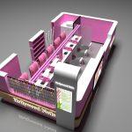 Amazing Design For Nail Shopping Mall Kiosk