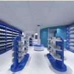 Modern Medical Display Shelves Dispensary Pharmacy Furniture To New Zealand
