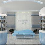 Decorative Personalized Pharmacy Shop Design Interior Display Furniture