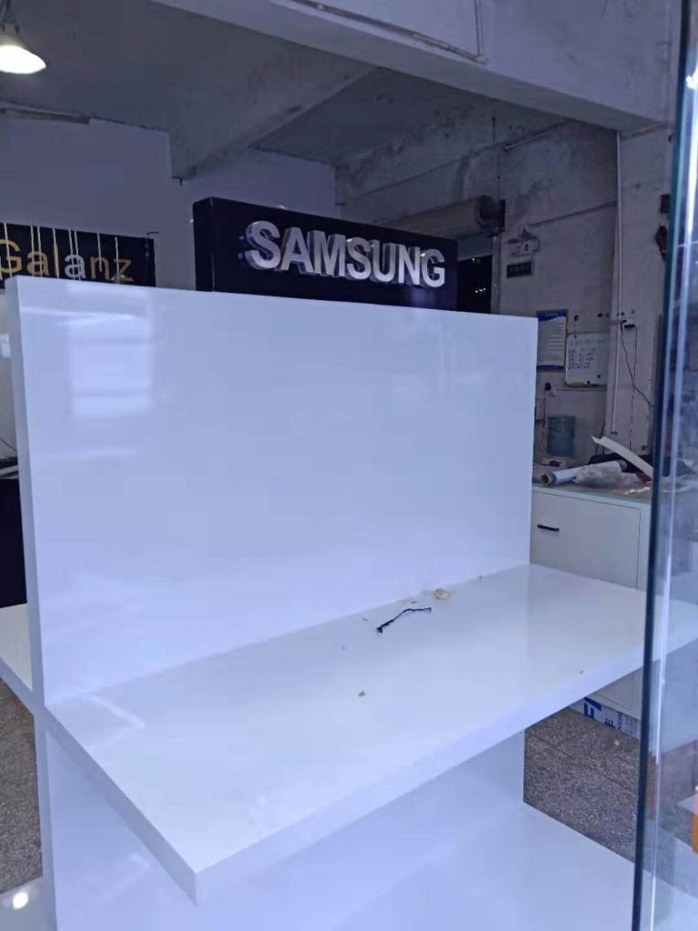 Home appliance display stand