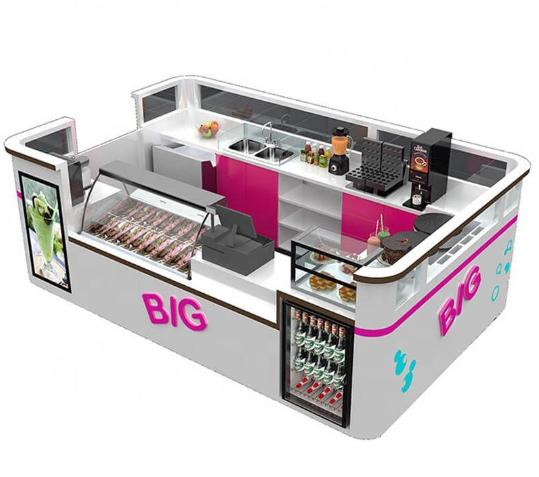Description of the ice cream kiosk