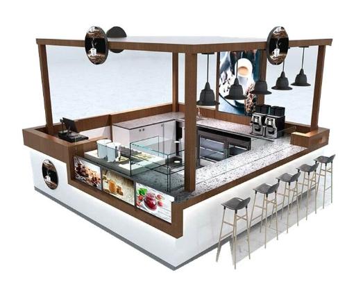 The description of the coffee kiosk