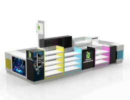 mobile accessories kiosk