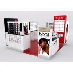 Customized Eyewear Kiosk Design Sunglass Mall Kiosk Modern