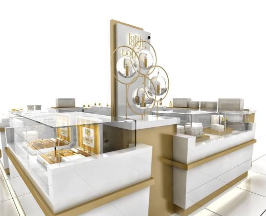 To produce one perfume kiosk