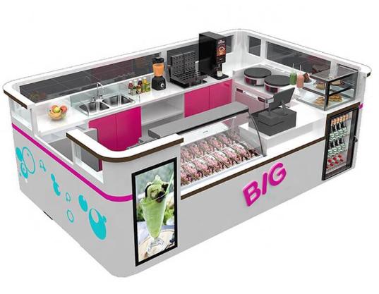 To design one kiosk