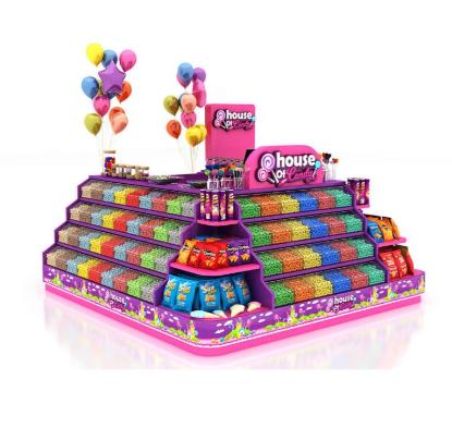 The description of the candy kiosk