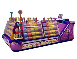 candy retail stall