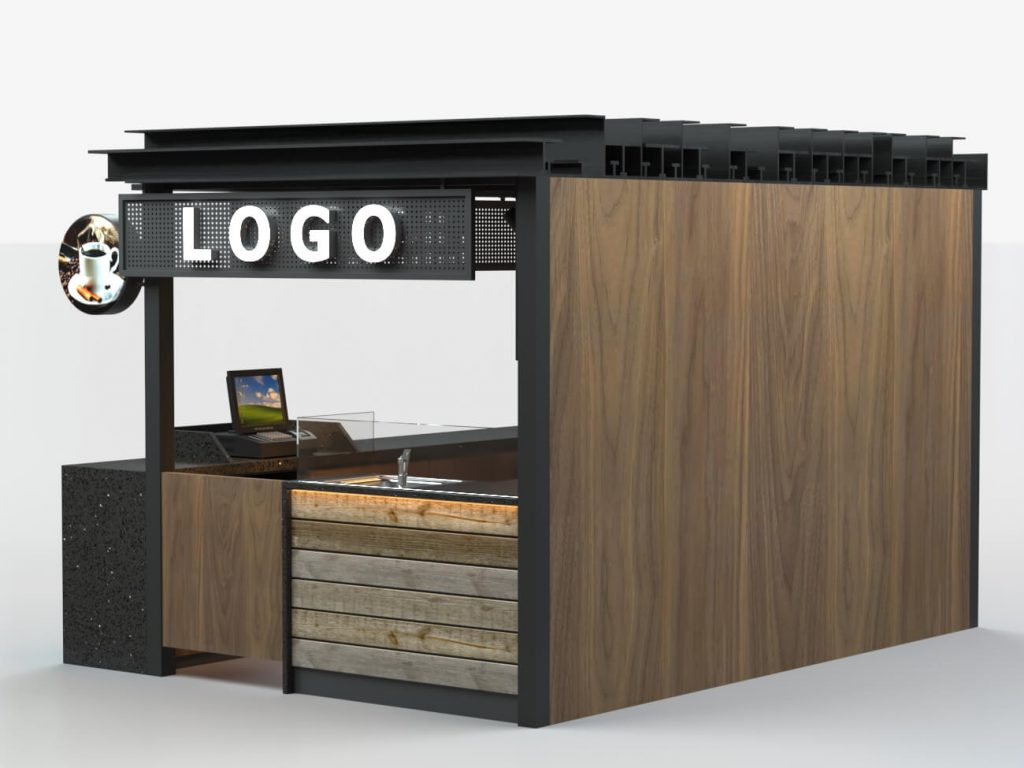 coffee booth