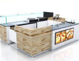 crepe kiosk design