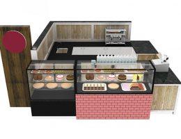 gelato kiosk