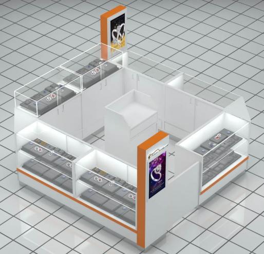 How to design one kiosk