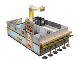 Dounts Kiosks Design