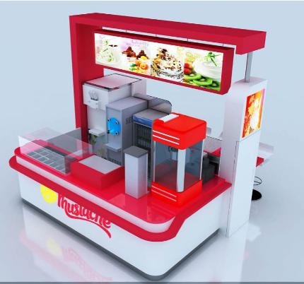 Details of Ice cream kiosk