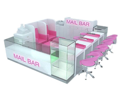 The introduction of the nail&pedicure kiosk