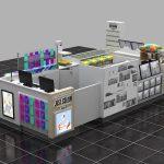retail service kiosk