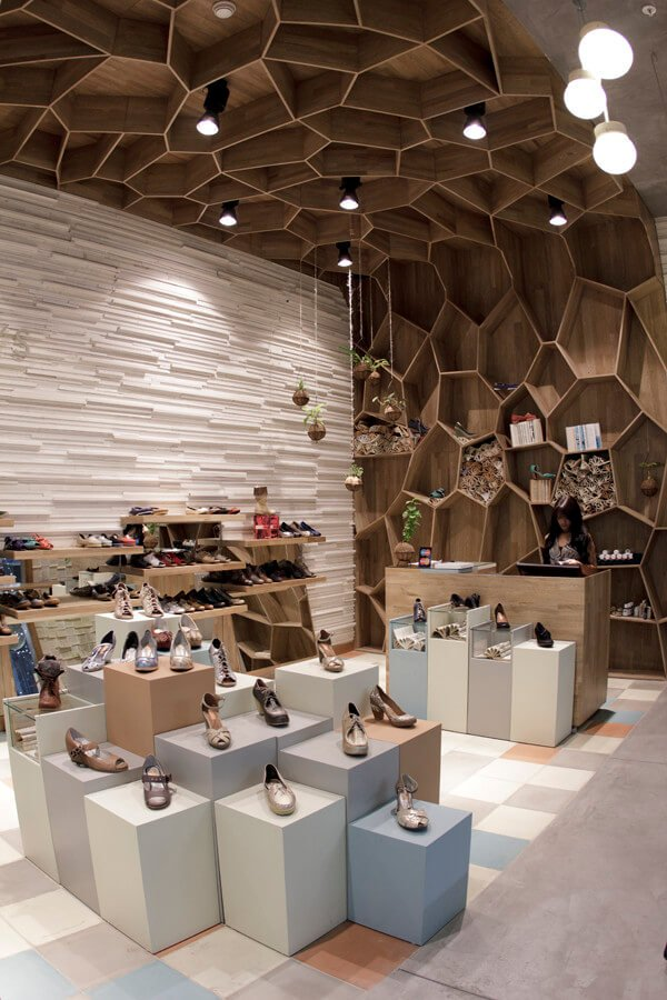 Shoe shop design