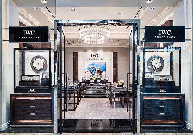 watch shop design
