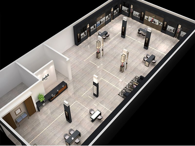 watch store design