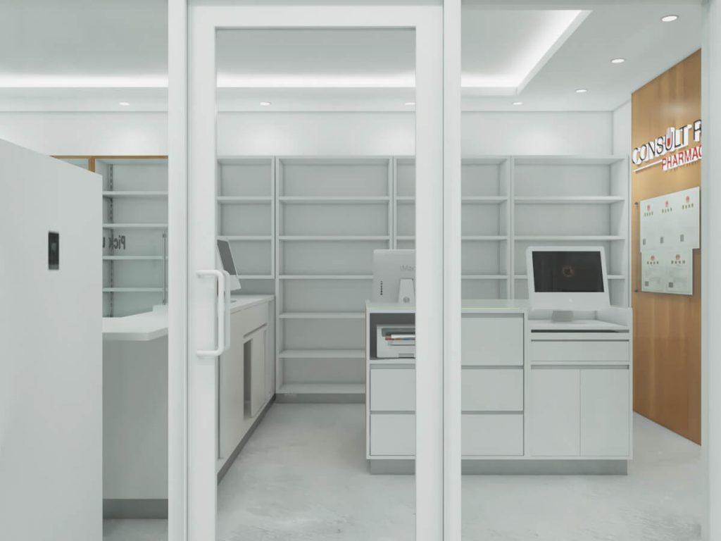 pharmacy booth