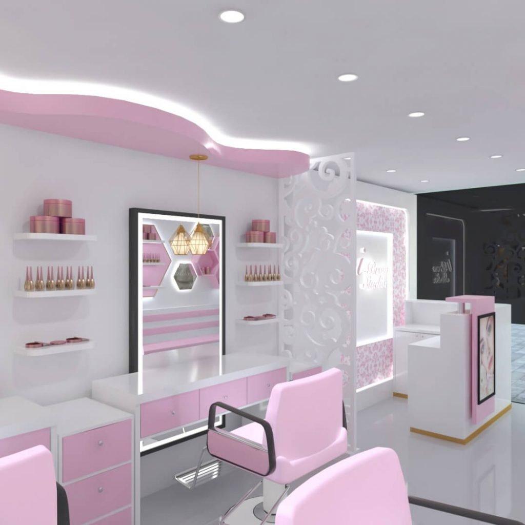 makeup store design