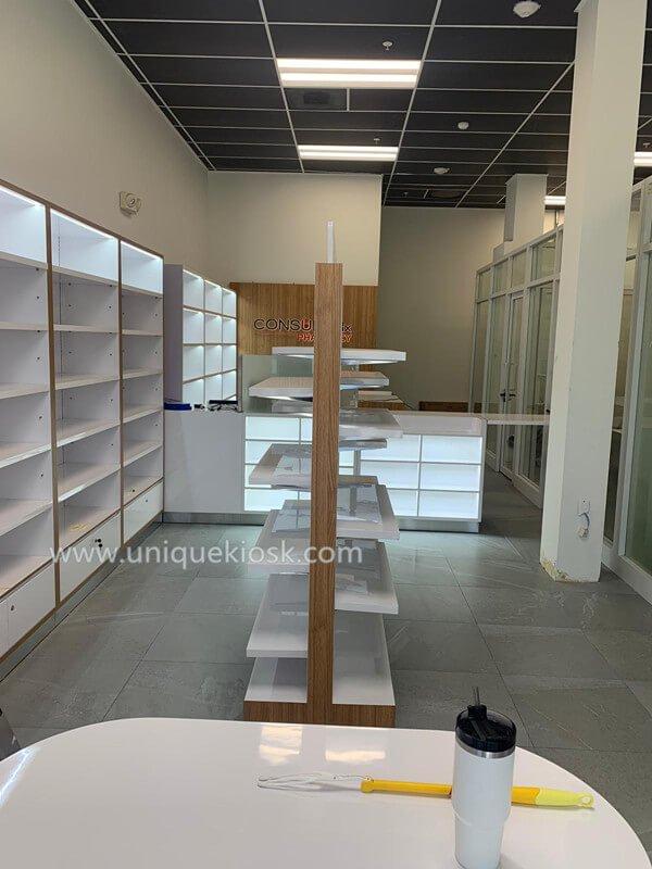 pharmacy shop fitting