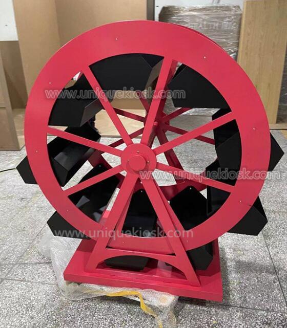 wheel shape candy shelf