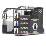 clothing kiosk