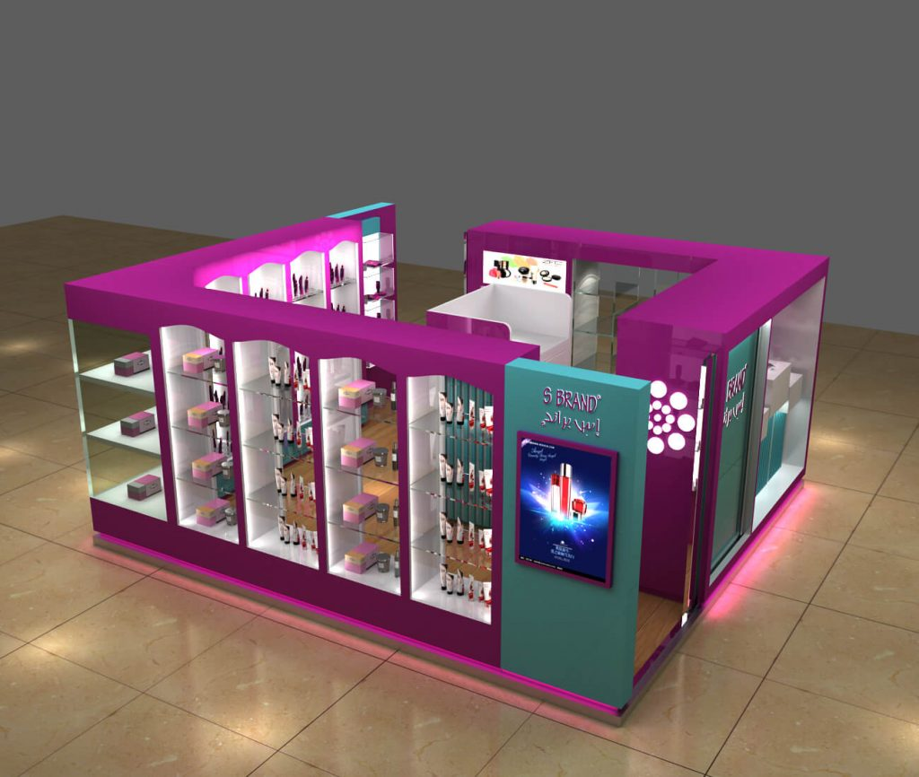 cosmetic booth