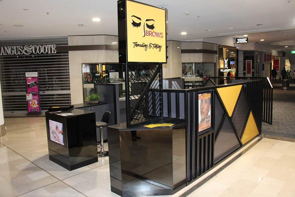 beauty salon station