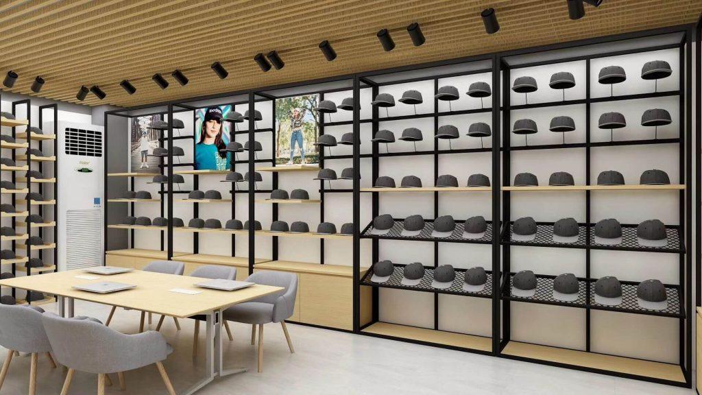hat display shelf