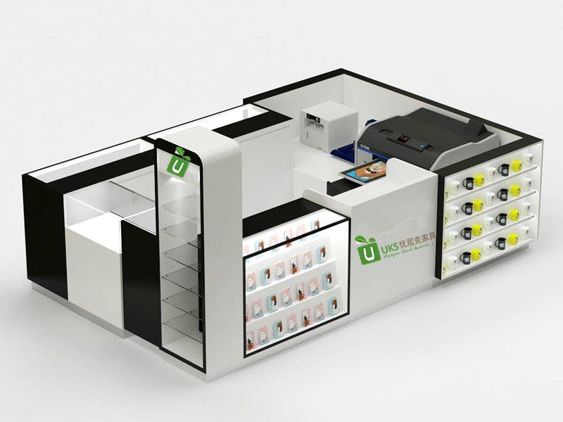 glass kiosk
